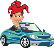 Funnybone Defensive Driving Mascot